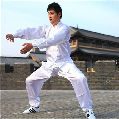 Chinese Kung fu Uniform Tai chi Wing Chun Martial arts Suit Coats Clothes Costum