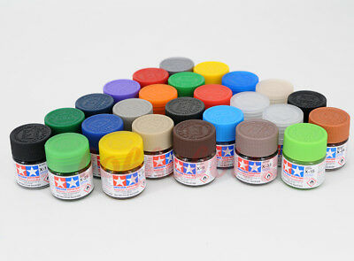 Tamiya Model Color Acrylic Mini Paint 10ml X-1 - X-35 81501 - 81535 Gloss series