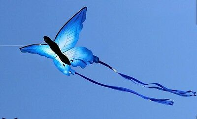 NEW 55-Inch long tail So Beautiful Butterfly Kite Outdoor fun Sports single line
