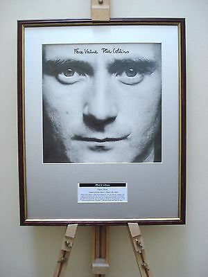 Phil Collins Face Value Original Framed Album Cover Artwork