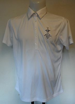 2015 Solheim Cup 5 Button Polo Shirt By Abacus  Ladies Size Uk 18/20 Brand New