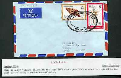 BELIZE: (13392) COTTON TREE VILLAGE TRD cancel/cover