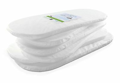 Kinder Valley Moses Basket Mattress, 28x74cm