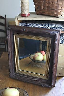 Antique Eastlake Carved Victorian Frame Mirror
