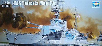 TRUMPETER® 05335 HMS Roberts Monitor in 1:350