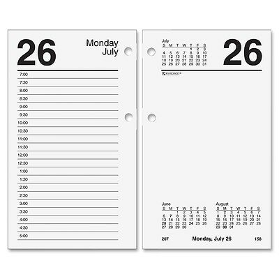 At-A-Glance Recycled Loose-leaf Desk Calendar Refill