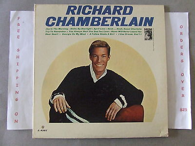 Richard Chamberlain Joy In The Morning Lp E-4287