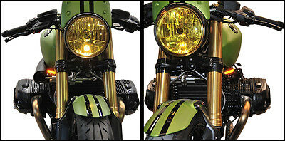 Front LED Turn Signals New Rage Cycles R9T-FB 14-16 BMW R Nine T