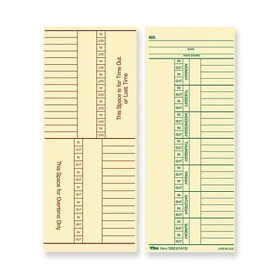 Named Days/Overtime Time Card