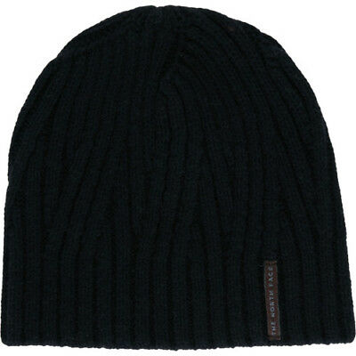 North Face Classic Wool Mens Headwear Beanie Hat - Tnf Black One Size