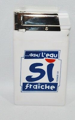 PASTIS 51 Briquet gaz rechargeable extra-plat collection NEUF