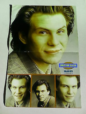 Color Me Badd / Christian Slater      Double Page Poster  LMH91