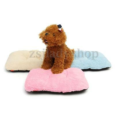 Dog Blanket Pet Cushion Cotton Dog Cat Bed Soft Warm Couch Sleep Mat House 37cm