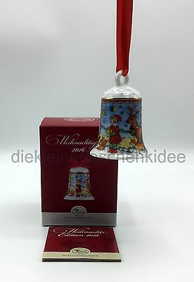 Hutschenreuther XMAS Christmas Bell Ornament Weihnachtsglocke Glocke 2016 NEW