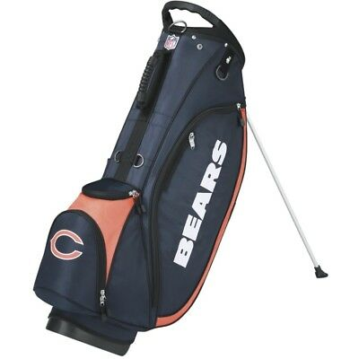 Wilson NFL Golf Carry/Stand Bag, Chicago Bears