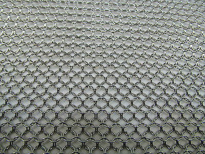 Niroflex Stainless Steel Armour Chainmail Chain Mail Mesh Knights Battle Fencing