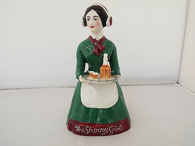 BURLEIGH WARE ADVERTISING  FIGURE 'THE SHERRY GIRL' FOR WILLIAMS HUMBERT c.1930