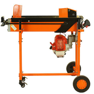 8 Ton Petrol Hydraulic Log Splitter Wood Timber Cutter Axe With Stand & Blade