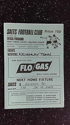 Salts V Keighley Town 1990S?