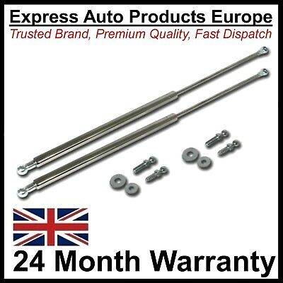 2 x Gas Bonnet Hood Lifters Struts VW Golf Mk2 Jetta Mk2
