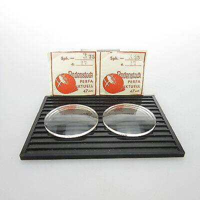 2x Rodenstock Perfa Ø 47mm  | sph. -3,25 | cyl. - | spectacle lens / Linsen