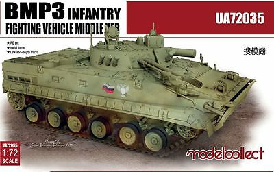 MODELCOLLECT UA72035 BMP3 Infantry Fighting Vehicle Middle Version in 1:72