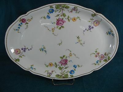"Castleton China Sunnyvale Oval 15 7/8"" Serving Platter"