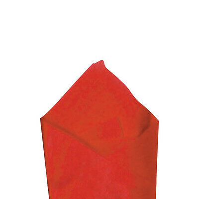 """24 Sheets / Pack 20"""" x 30"""" Cherry Red Quality Premium Grade Color Tissue Paper"""