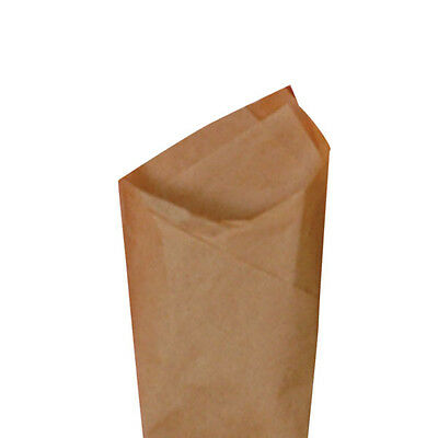 "24 Sheets / Pack 20"" x 30"" Kraft Brown Quality Premium Grade Color Tissue Paper"