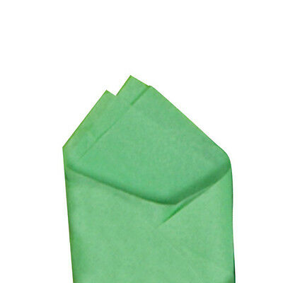 """Apple Green Quality Premium Grade Color Tissue Paper 20"""" x 30"""" 24 Sheets / Pack"""