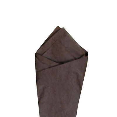 """Brown Quality Premium Grade Color Tissue Paper 20"""" x 30"""" 24 Sheets / Pack"""