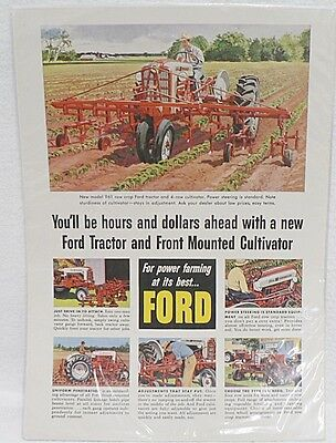Ford Tractor  Magazine Ad