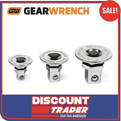GearWrench 3 Piece Metric Drive Adapter Set - 9230D