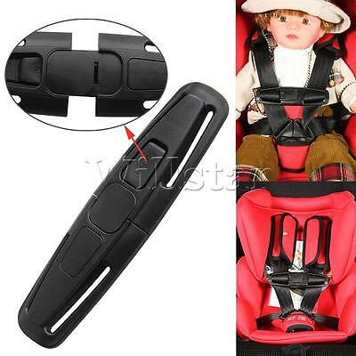 2pcs Pro Safe Buckle Baby Car Safety Seat Strap Child Toddler Chest Harness Clip