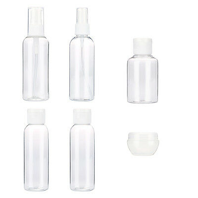 4/6/9PCS Empty Tubes For Cosmetic Cream Travel Lotion Containters Empty Bottles