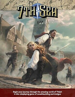 7th Sea Role Playing Game - Second Edition - Core Rulebook