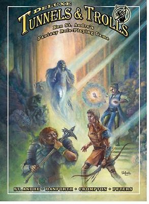 Tunnels And Trolls RPG - Deluxe Rulebook - Softcover