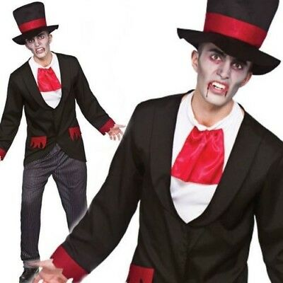 VIRILE VAMPIRE ADULT Men's Halloween Dress Up Theme Party Cosplay