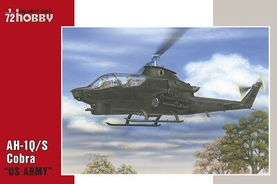 "SPECIAL HOBBY 72283 AH-1Q/S Cobra ""US Army & Turkey"" in 1:72"