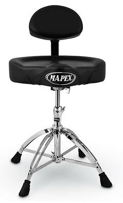 Mapex T775A Saddle Top Throne + Back Rest (NEW)