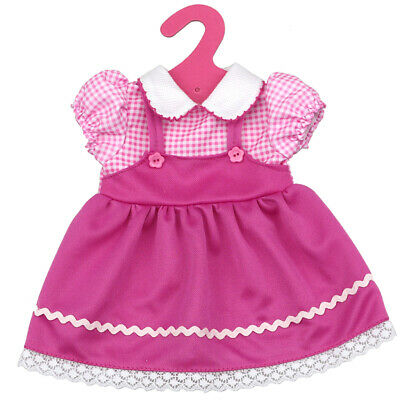 Cute Pink Plaid Dress Clothing for 18 inch American Girl Our Generation Doll