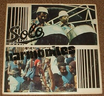 SOLO HARMONITES self titled 1978 US CHARLIES STEREO CALYPSO LP