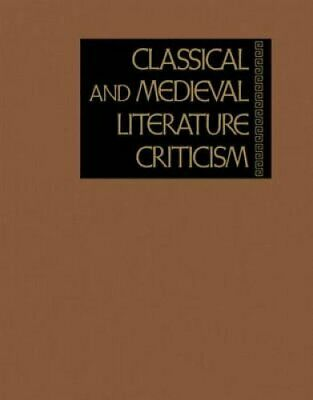 Classical and Medieval Literature Criticism by Jelena Krstovic 9781414489193
