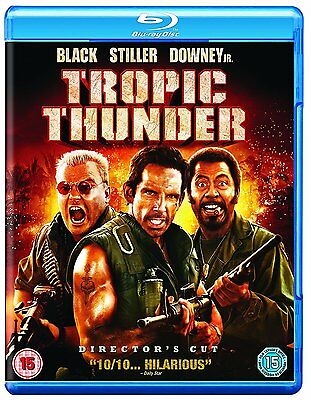 Tropic Thunder [Blu-ray] Brand New Sealed