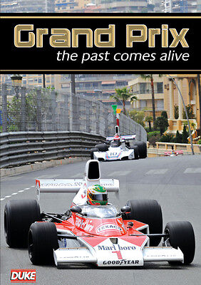 Grand Prix - The Past Comes Alive - Dvd - Region 2 - Brand New & Sealed