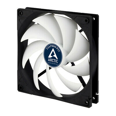 Arctic F14 PWM PST 140mm, 4-Pin PWM Case Fan, High Air, Quiet