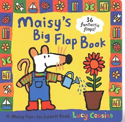 Maisy's Big Flap Book A Maisy Fun-to-Learn Book by Lucy Cousins 9781406306880