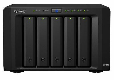 Synology DS1515 serveur de stockage [Noir] - Synology DS1515, Alpine NEUF