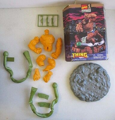 1996 Toy Biz Marvel Comics X-Men The Thing Level 1 Snap Together Model Kit