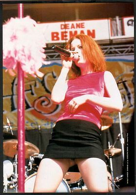 1997 Garbage Shirley sexy shot JAPAN mag photo pinup mini poster / clipping 06r